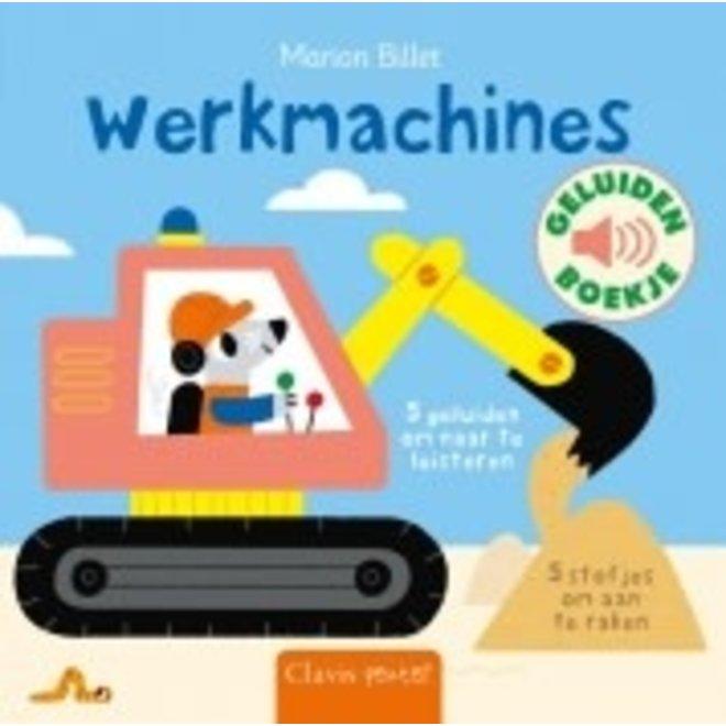 CLAVIS - Geluid- &Voelboek - Werkmachines +12m