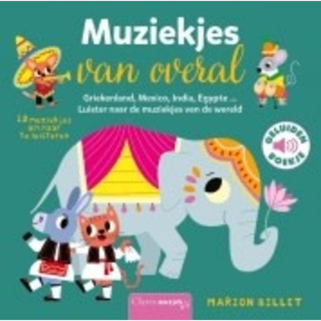 CLAVIS - Geluidenboek - Muziekjes van overal +2j