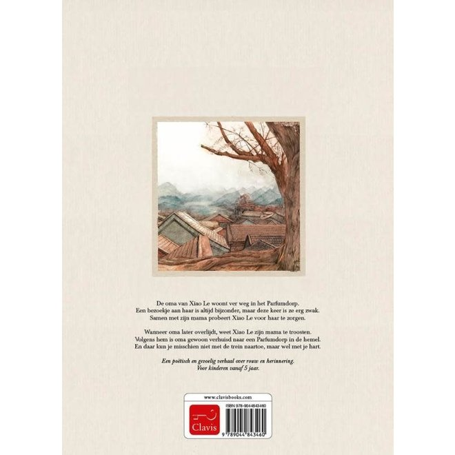 CLAVIS - Kijk - & Voorleesboek - Oma drinkt thee in de hemel +5j