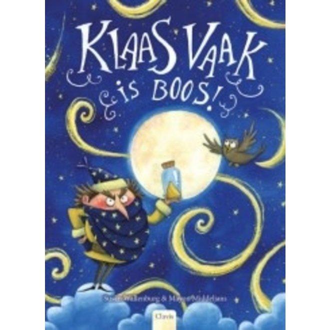 CLAVIS - Kijk & Voorleesboek - Klaas vaak is boos +5j