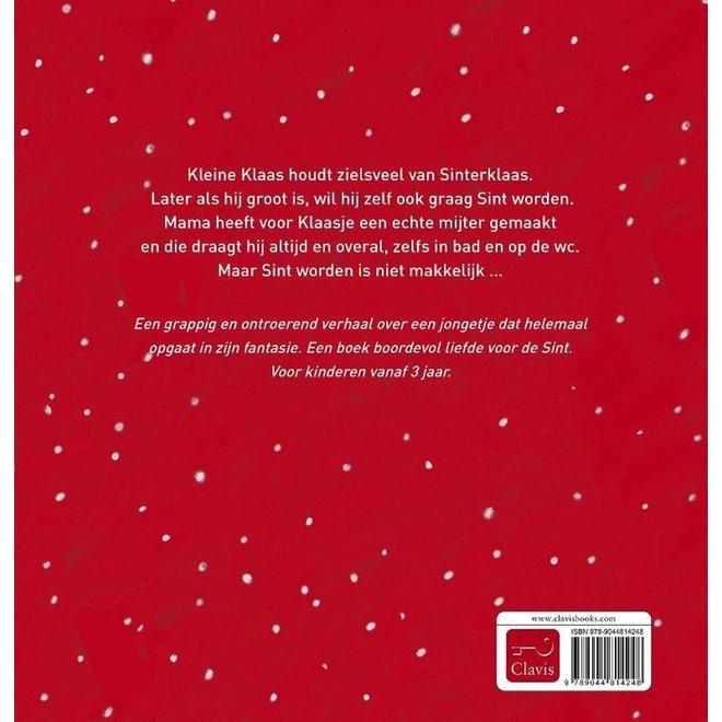 CLAVIS - Kijk - & Voorleesboek - Klaasje Sinterklaasje +3jaar