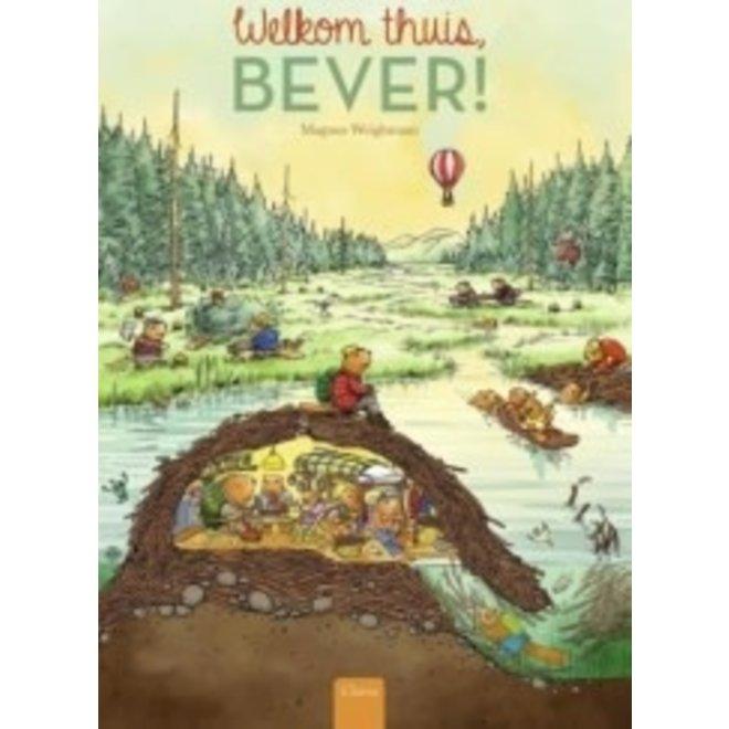 CLAVIS - Kijk - & Voorleesboek -Welkom thuis, Bever +4