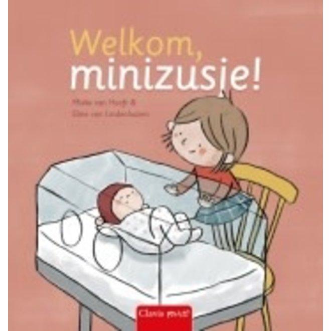 CLAVIS - Kijk - & Voorleesboek - Welkom, minizusje +2j