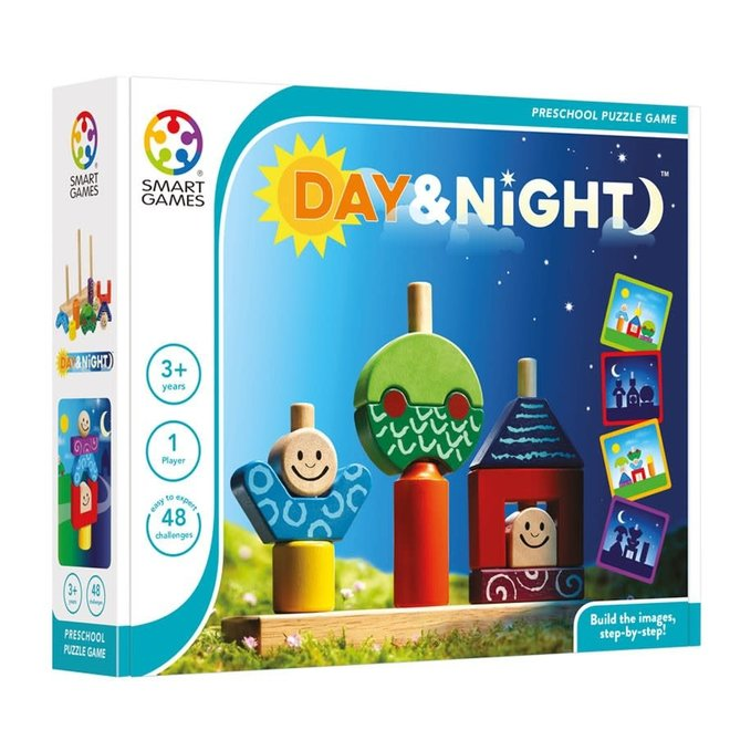 SMART GAMES - Day&Night (+3jaar)