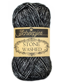 Scheepjes Stone Washed - 803 - Black Onyx