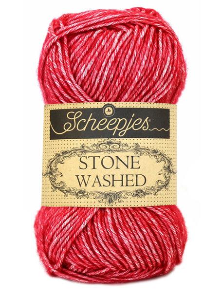 Scheepjes Stone Washed - 807 - Red Jasper