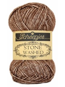 Scheepjes Stone Washed - 822 - Brown Agate
