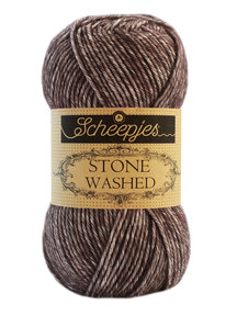 Scheepjes Stone Washed - 829 - Obsidian