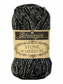 Scheepjes Stone Washed XL - 843 - Black Onyx