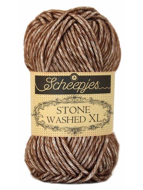 Scheepjes Stone Washed XL - 862 - Brown Agate