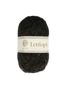 Istex lopi Lett lopi - 0005 - black heather