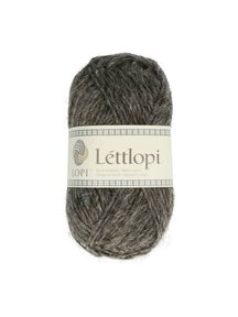 Istex lopi Lett lopi - 0058 - dark grey heather