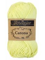 Scheepjes Catona 50 - 100 - Lemon Chiffon