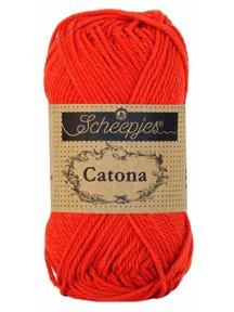 Scheepjes Catona 50 - 115 - Hot Red
