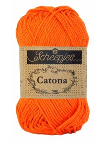 Scheepjes Catona 50 - 189 - Royal Orange