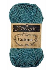Scheepjes Catona 50 - 391 - Deep Ocean Green