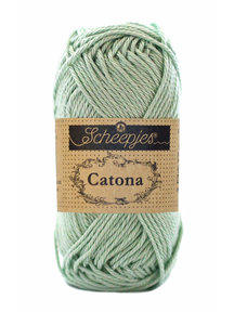 Scheepjes Catona 50 - 402 - Silver Green