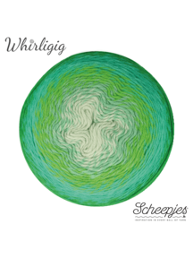 Scheepjes Whirligig - 207 - Green to Blue
