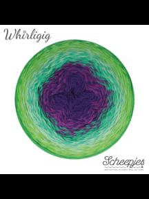 Scheepjes Whirligig - 208 - Green to Purlpe