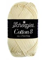Scheepjes Cotton 8 - 501 - warm wit