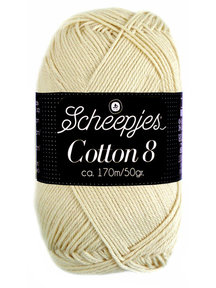 Scheepjes Cotton 8 - 501 - warm wit