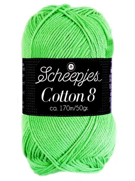 Scheepjes Cotton 8 - 517 - gras groen