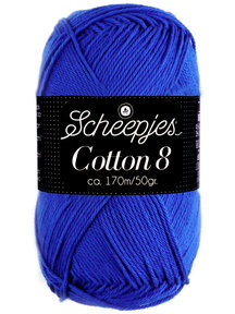 Scheepjes Cotton 8 - 519 - lapis