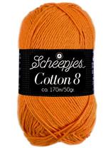 Scheepjes Cotton 8 - 639 - licht oranje