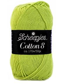 Scheepjes Cotton 8 - 642 - lente gras