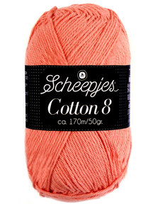 Scheepjes Cotton 8 - 650 - perzik