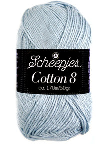 Scheepjes Cotton 8 - 652 - zilver