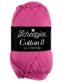 Scheepjes Cotton 8 - 653 - oud roze