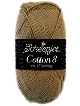 Scheepjes Cotton 8 - 659 - lichtbruin