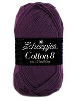 Scheepjes Cotton 8 - 661 - paarsblauw