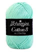 Scheepjes Cotton 8 - 663 - lucht blauw