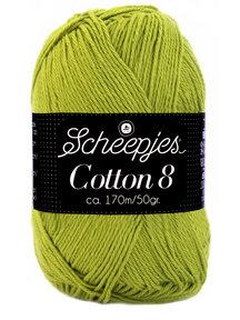 Scheepjes Cotton 8 - 669 - zomergras