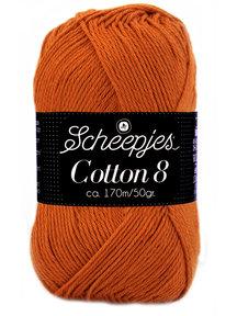Scheepjes Cotton 8 - 671 - oud oranje