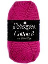 Scheepjes Cotton 8 - 720 - cerise