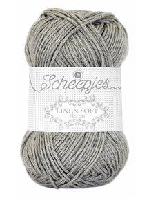 Scheepjes Linen Soft - 619 - grijs