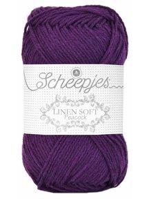 Scheepjes Linen Soft - 602 - donker paars