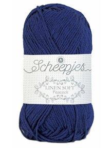 Scheepjes Linen Soft - 611 - donkerblauw