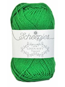 Scheepjes Linen Soft - 606 - grasgroen