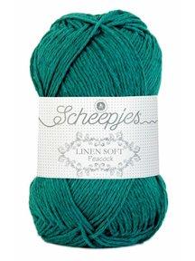Scheepjes Linen Soft - 608 - blauwgroen