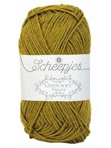 Scheepjes Linen Soft - 610 - okergeel