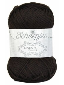 Scheepjes Linen Soft - 601 - dark grey