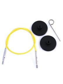 KnitPro Knitpro Kabel 40cm Geel