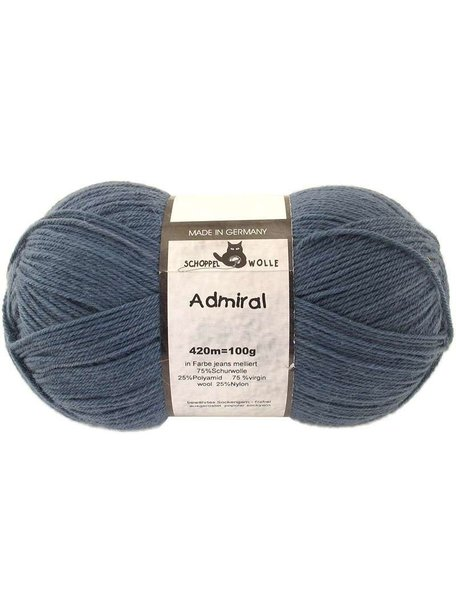 Schoppel Admiral Admiral 4993 - Jeans Variegated