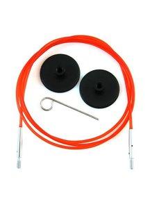 KnitPro Knitpro kabel 100cm Rood