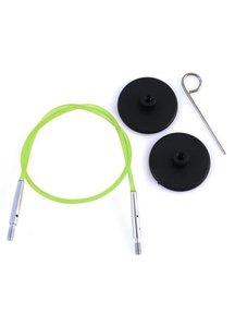 KnitPro Knitpro kabel 60cm groen
