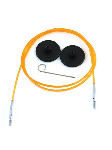 KnitPro Knitpro kabel 80cm Oranje
